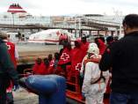 PAtera llega al puerto de Málaga (41 inmigrantes) 19/10/2017