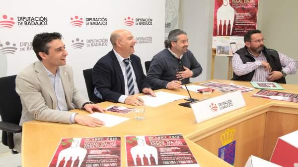 Presentación del encuentro gastronómico de Puebla de la Calzada