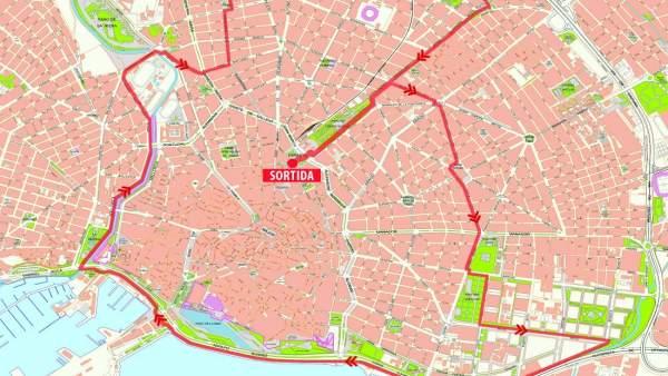 Mapa de la actividad 'Rodabarris'