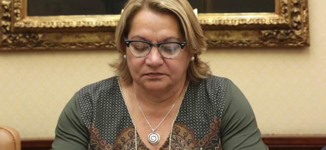 Meri Pita, diputada de Unidos Podemos.