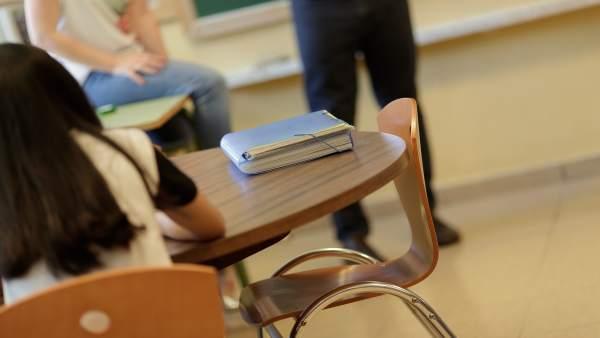 Imagen de archivo de una clase