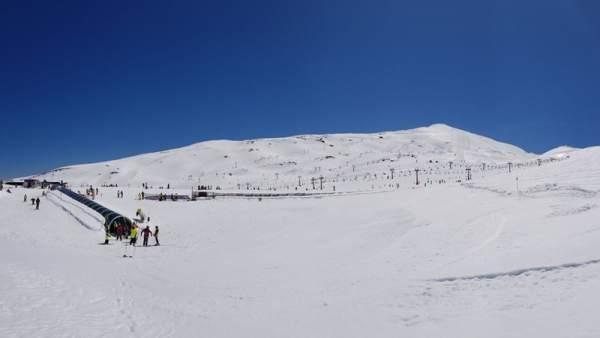 Estación invernal de Sierra Nevada