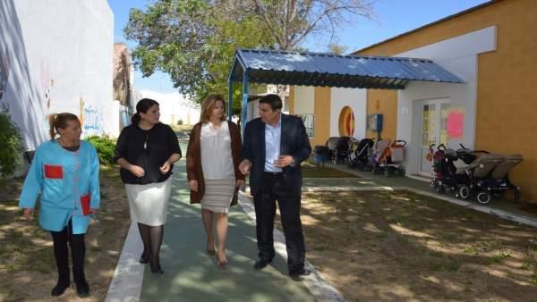 Almonte construirá dos nuevas aulas en su escuela infatil Doñanita
