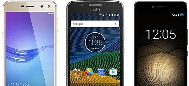 Seis buenos móviles que puedes encontrar hoy por menos de 150 euros