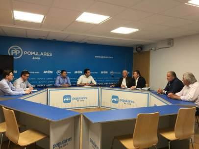El PP de Jaén se reúne con los regantes