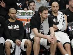 Parker, Gasol y Ginobili, en el banquillo