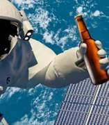 Cerveza para el espacio