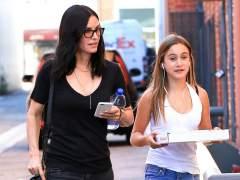 Courteney Cox se marca 'un Terelu Campos' con su hija adolescente