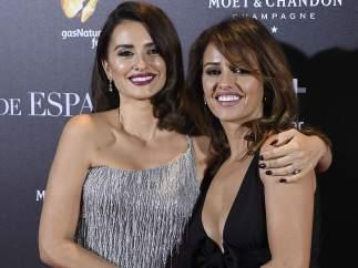 Penélope y Mónica Cruz