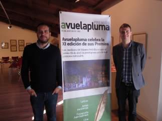 Sergio Martínez y Conrado Gómez, responsables de Avuelapluma