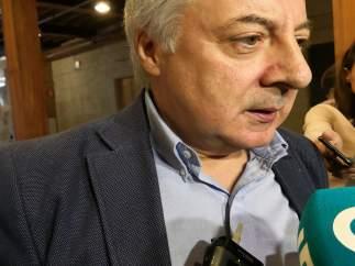 José Blanco, en un acto en Santiago