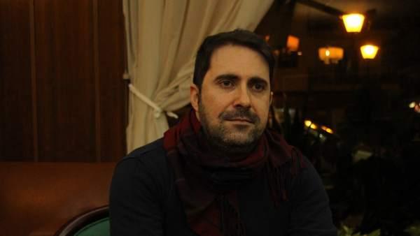 Álvaro González, paciente de hemofilia