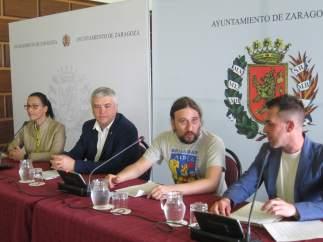 Presentación de la iniciativa Brazadas Solidarias.