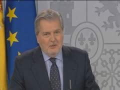 Iñigo Méndez de Vigo en declaraciones en el Consejo de Ministros