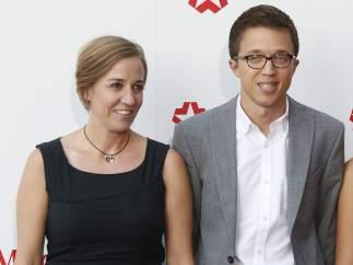 Tania Sánchez y Errejón