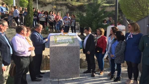 Inauguración del parque Clara Campoamor de Quesada