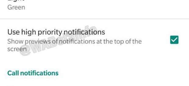 Notificaciones de alta prioridad