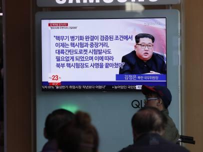 Corea del Norte suspende sus pruebas nucleares