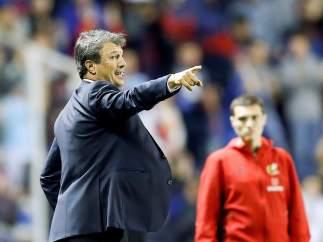 José González, técnico del Málaga