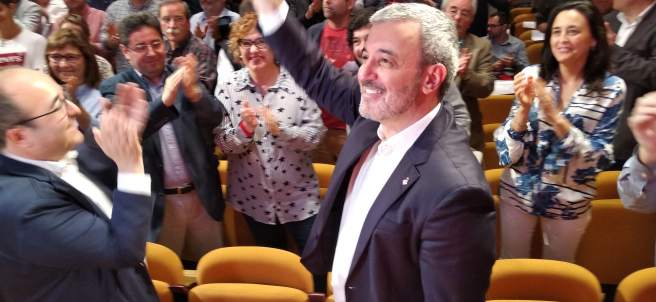 El líder del PSC en el Ayuntamiento de Barcelona, Jaume Collboni