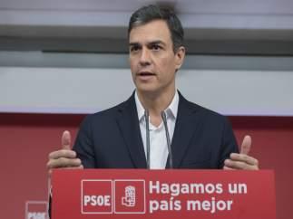 Pedro Sánchez, secretario general del PSOE, en una imagen de archivo