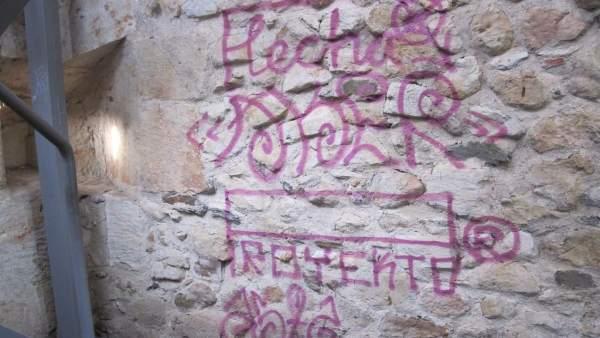 Salamanca.- Pintandas en la Cueva de Salamanca