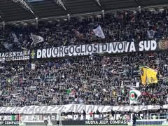 Aficionados de la Juventus.