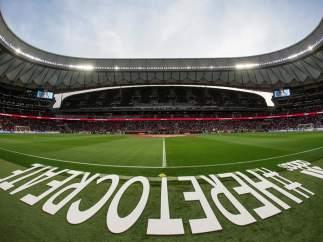 El estadio Wanda Metropolitano.