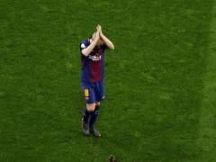 Iniesta se da un homenaje en su última final con el Barça
