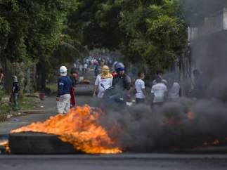 Ola de protestas en Nicaragua