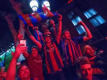 Aficionados del Barça