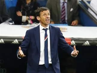 Ziganda, entrenador del Athletic.