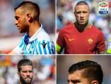 Los jugadores de la Serie A, contra la violencia de género.