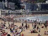 Buen tiempo en San Sebastián