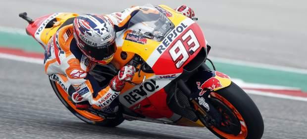 Marc Márquez vuela en Texas pero es Dovizioso quien se pone líder del Mundial de MotoGP