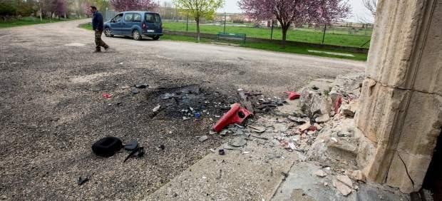 Accidente en Peñaranda de Duero