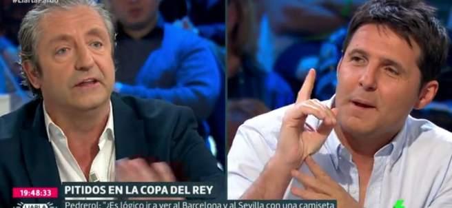 Pedrerol y Cintora en 'Liarla Pardo'