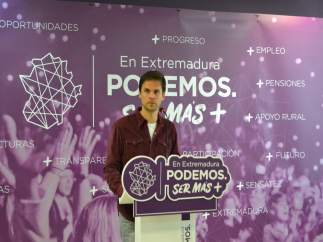 Ndp+Audio+Foto Podemos Exigirá Al Presidente De La Junta De Extremadura Medidas