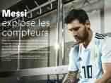 Leo Messi en 'France Football'