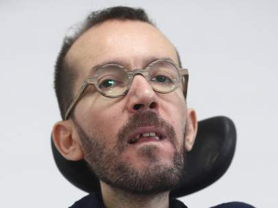 Rueda de prensa tras el Consejo de Coordinación de Podemos de Pablo Echenique