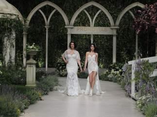 Blanca Romero y Lucía Rivera
