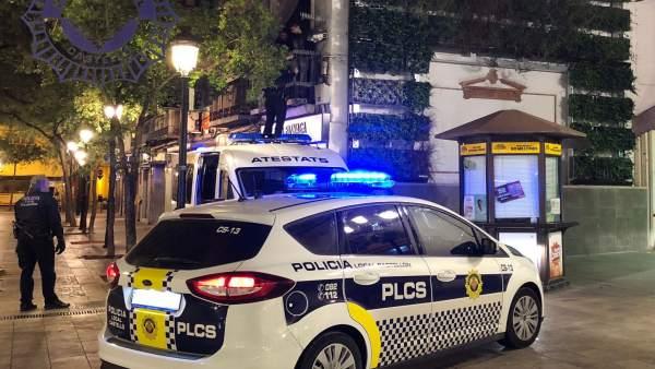 LA POLICÍA LOCAL DETIENE A DOS MENORES