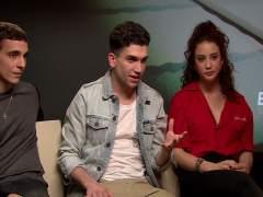 María Pedraza, Miguel Herrán y Jaime Lorente, de 'La casa de papel' a 'Élite'