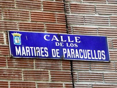 Calles Y Símbolos Franquistas, Franquismo, Calle De Los Mártires De Paracuellos