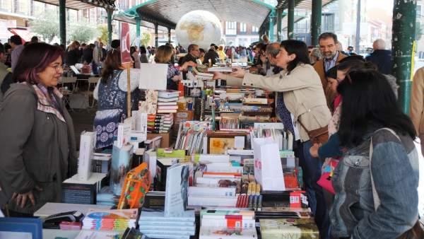 Día del Libro en Valladolid.