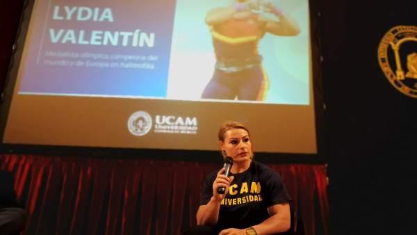 Lydia Valentín, en la UCAM