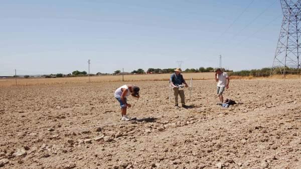 Investigaciones arqueológicas en el entorno del Cerro de la Cabeza