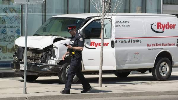 Atropello múltiple en Toronto: 10 muertos y 15 heridos