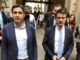 El pte.De SCC J.Rosiñol y el exministro Manuel Valls.