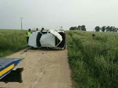 Accidente mortal en Villar del Rey